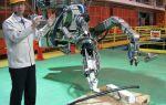 Созданы роботы для работы в местах атомных аварий