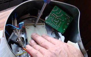 Ремонт термопота своими руками при различных неисправностях