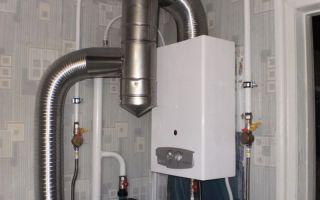 Установка и подключение газовой колонки в квартире и в частом доме своими руками