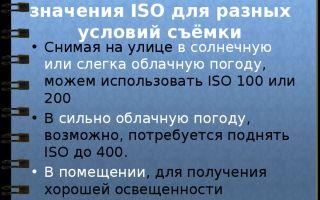Что значит стандарт iso в фотоаппарате, как он работает, связь с экспозицией