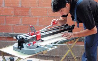 Выбор электрического и ручного плиткореза для дома или профессиональной деятельности