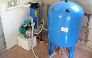 Устройство и принцип работы насосной станции с гидроаккумулятором для частного дома