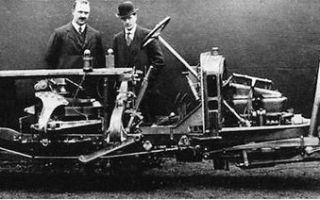 Изобретен транспорт на гироскопических колоннах