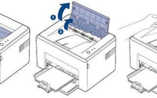 Что делать если в принтере hp, canon, brother, xerox, epson застряла бумага