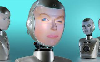 Ведется разработка робота, способного имитировать человеческие эмоции