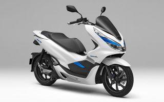 Honda создали электрический скутер со съемными аккумуляторными батареями
