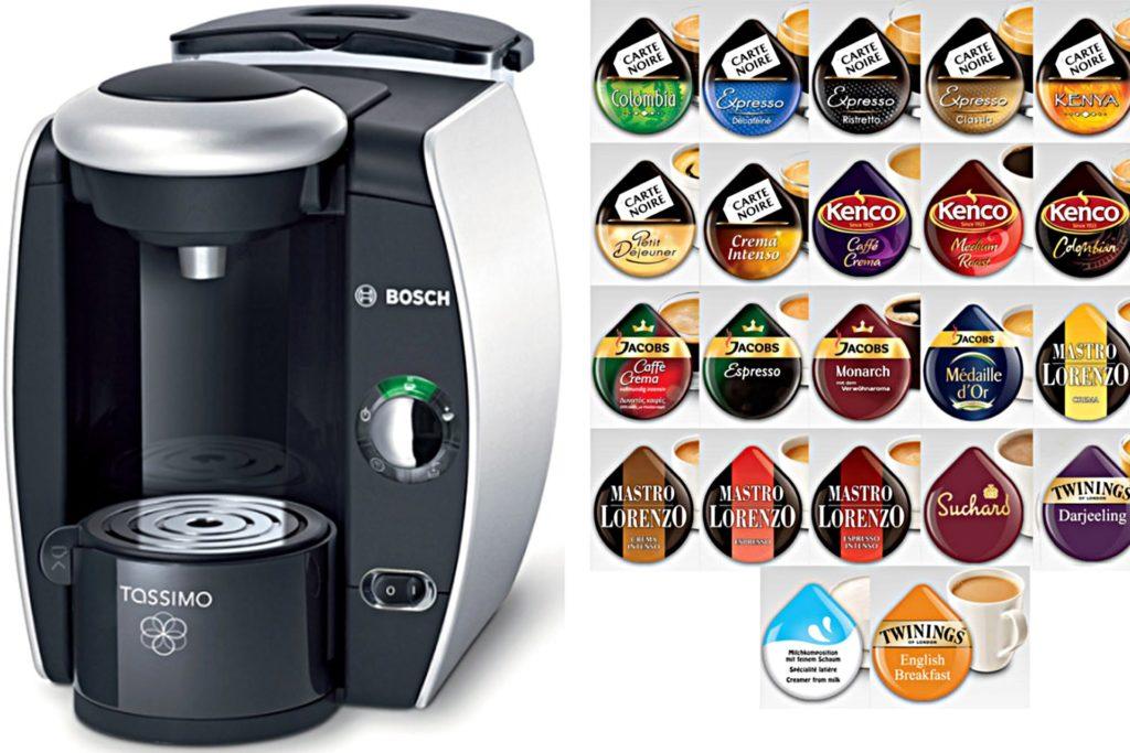 какие капсулы подходят для кофемашины Bosch