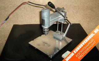Как сделать мини дрель для печатных плат своими руками