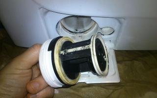 Как снять и почистить фильтр в стиральной машине