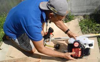 Техническое обслуживание бензинового и электрического триммера своими руками