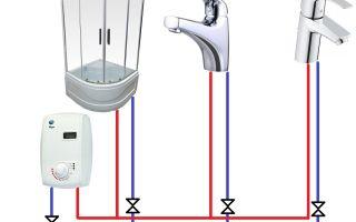 Как установить и подключить проточный водонагреватель к водопроводу?