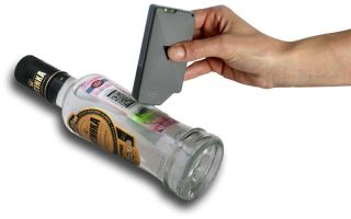 Создан детектор для определения качества алкоголя в закупоренной бутылке