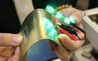 Создана гибкая батарея, способная к саморазложению