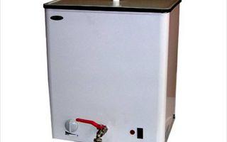 Накопительный и наливной водонагреватель для дачи