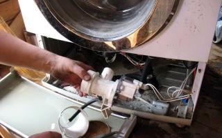 Замена насоса в стиральной машине: бош, индезит, самсунг, элджи