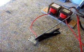 Как сделать сварочный аппарат своими руками в домашних условиях: инверторный, точечный, из микроволновки и другие