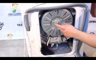 Замена подшипника на стиральной машине элджи (lg)
