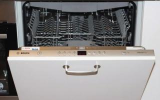 Встраиваемая посудомоечная машина бош: обзор, разбор, ремонт