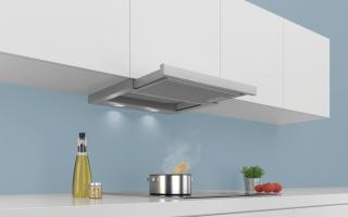 Плоская вытяжка для кухни: плюсы и минусы