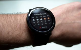 Обзор смарт-часов от xiaomi: amazfit pace и amazfit watch 2