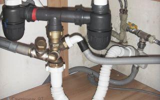 Подключение посудомоечной машины: к водопроводу, канализации