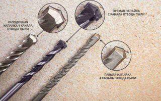 Сверло по бетону для дрели: строение, разновидности, как сверлить бетонную стену