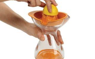 Ручная соковыжималка для цитрусовых: апельсинов, лимонов
