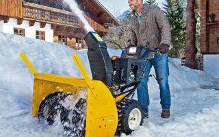 Как выбрать снегоуборочную машину для дома и дачи: виды, характеристики, обзор производителей