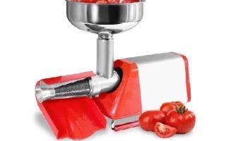 Соковыжималка для томатов и помидоров: шнековая, ручная, электрическая