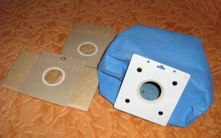 Мешок для пылесоса своими руками: как сделать многоразовый вариант?