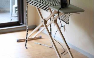 Как выбрать гладильную доску для дома: критерии подбора