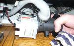 Как снять насос стиральной машины индезит?