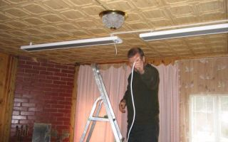 Ремонт инфракрасного обогревателя в домашних условиях