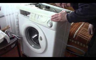 Неисправности стиральной машины канди и ее ремонт своими руками