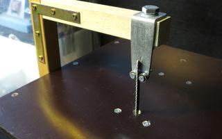 Как сделать электролобзик и станок из электролобзика своими руками