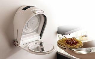 Мини-микроволновка для разогрева еды