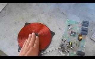 Ремонт индукционной плиты своими руками