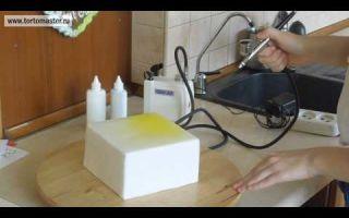 Кондитерский аэрограф для покраски тортов: что такое, как выбрать, лучшие модели