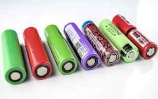 Какие аккумуляторы 18650 лучше выбрать для электронных сигарет