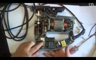 Ремонт электролобзика своими руками: типичные поломки и их устранение