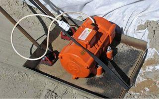 Как сделать виброплиту для уплотнения грунта и виброрейку для бетона своими руками