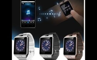Smart watch and phone dz09: характеристики, возможности, настройка