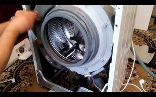 Как разобрать стиральную машинку lg своими руками?