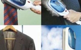 Паровая щетка для одежды: принцип работы, как выбрать