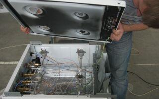 Ремонт и разборка газовой плиты гефест, горенье, индезит и других своими руками