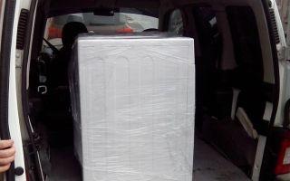 Можно ли стиральную машинку перевозить лежа: правильная транспортировка