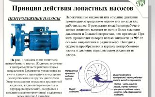 Центробежные насосы: устройство, принцип работы, классификация, характеристики, неисправности и ремонт