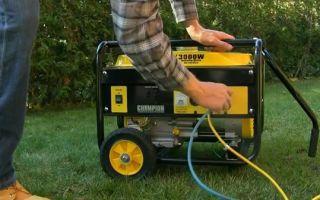 Как выбрать бензиновый или дизельный сварочный генератор: расчет мощности и других параметров
