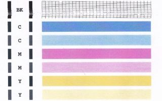 Почему струйный или лазерный принтер печатает полосами, и что делать в этом случае