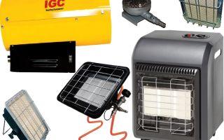 Газовый обогреватель для дома: виды, принцип работы, преимущества